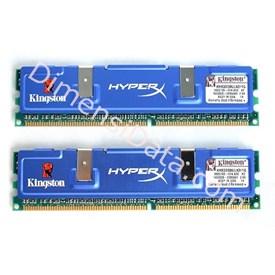 Jual KINGSTON Memory 2 GB [Hyper X KHX6400D2LLK2/2G]